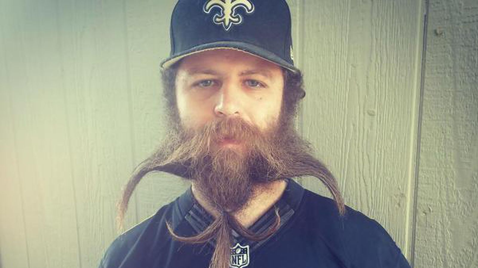 Travis Wood Grows Epic Saints Beard - S̶c̶a̶p̶e̶ ̶G̶o̶a̶t̶'̶s̶ Rob Ryan's Hair