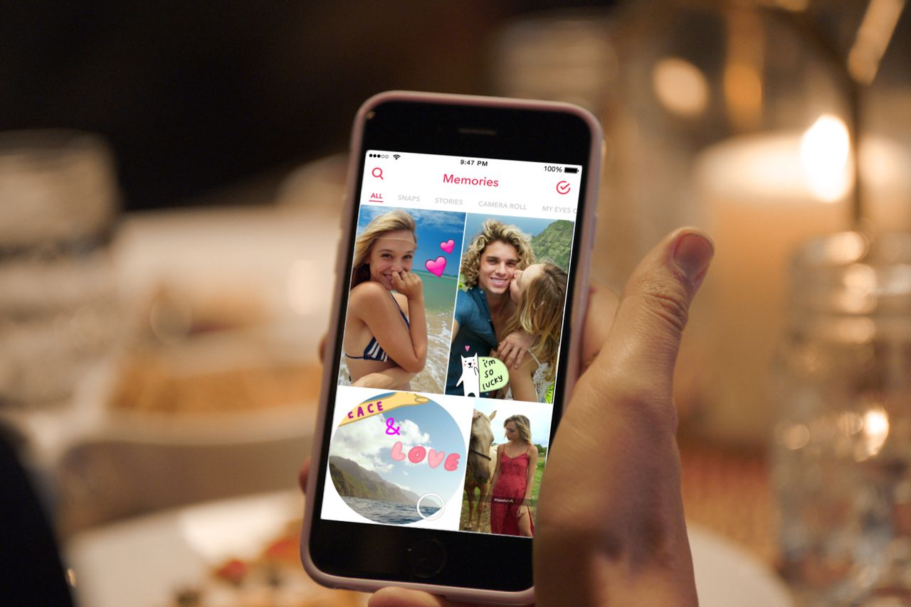 Snapchat introduces new way to save old snaps