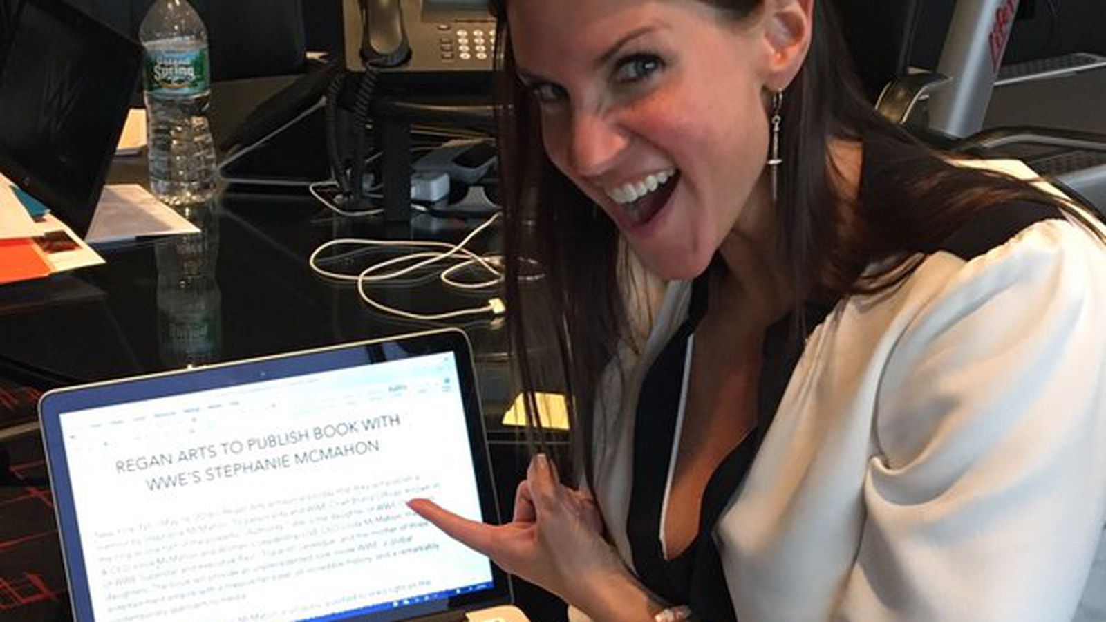 Stephanie Mcmahon Writing A Book On Growing Up In Wwe