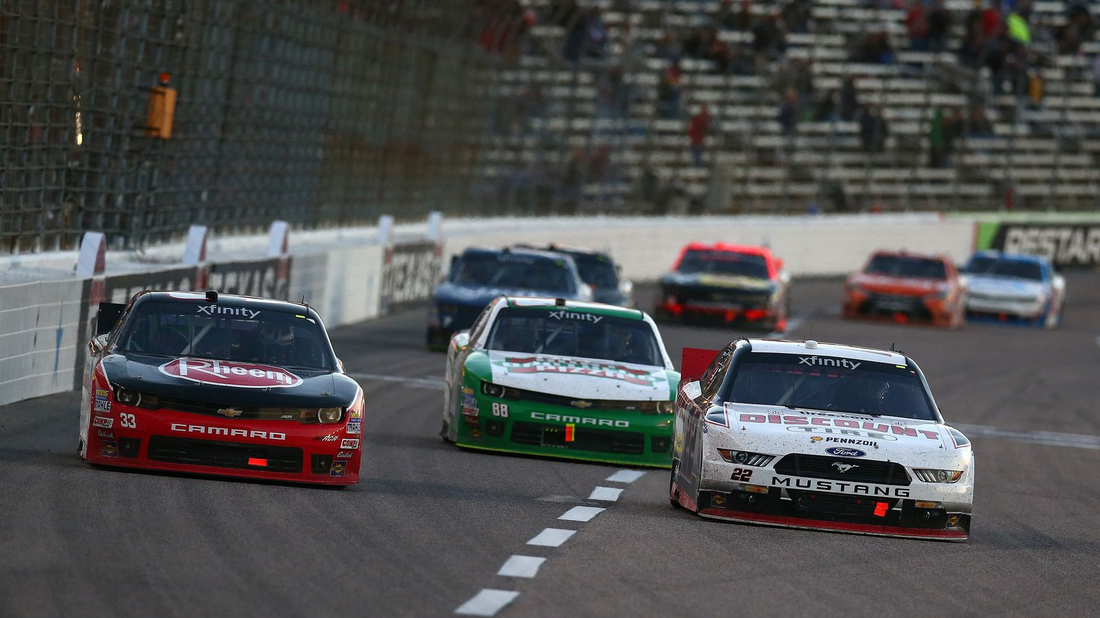 Nascar texas 2015 lineup starting grid for aaa texas 500 for Starting lineup texas motor speedway
