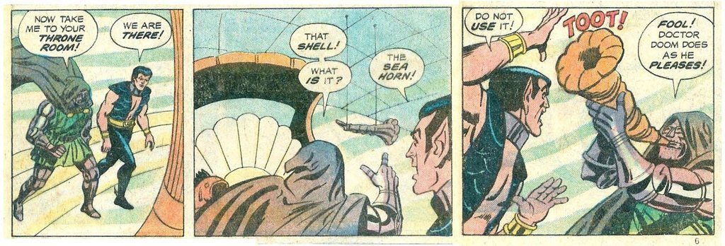 Doctor Doom toots as he pleases (Marvel)