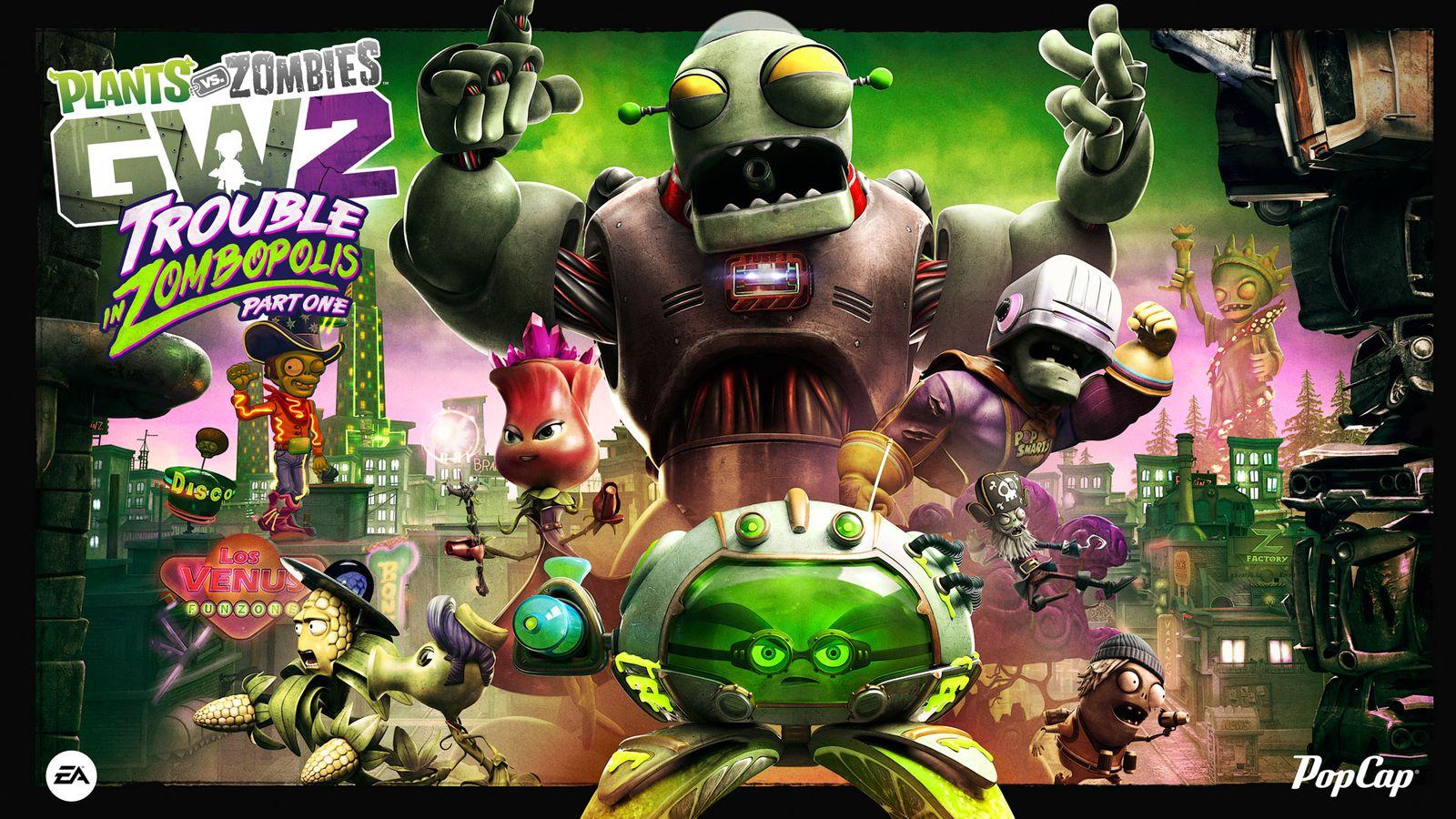 Plants Vs. Zombies: Garden Warfare 2's Next Big Update