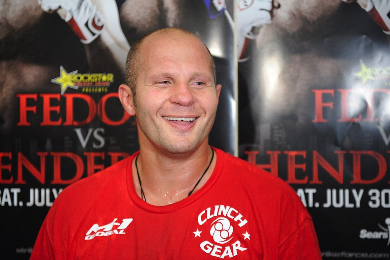 Fedor Emelianenko vs. Fabio Maldonado set for Fight Nights in Russia