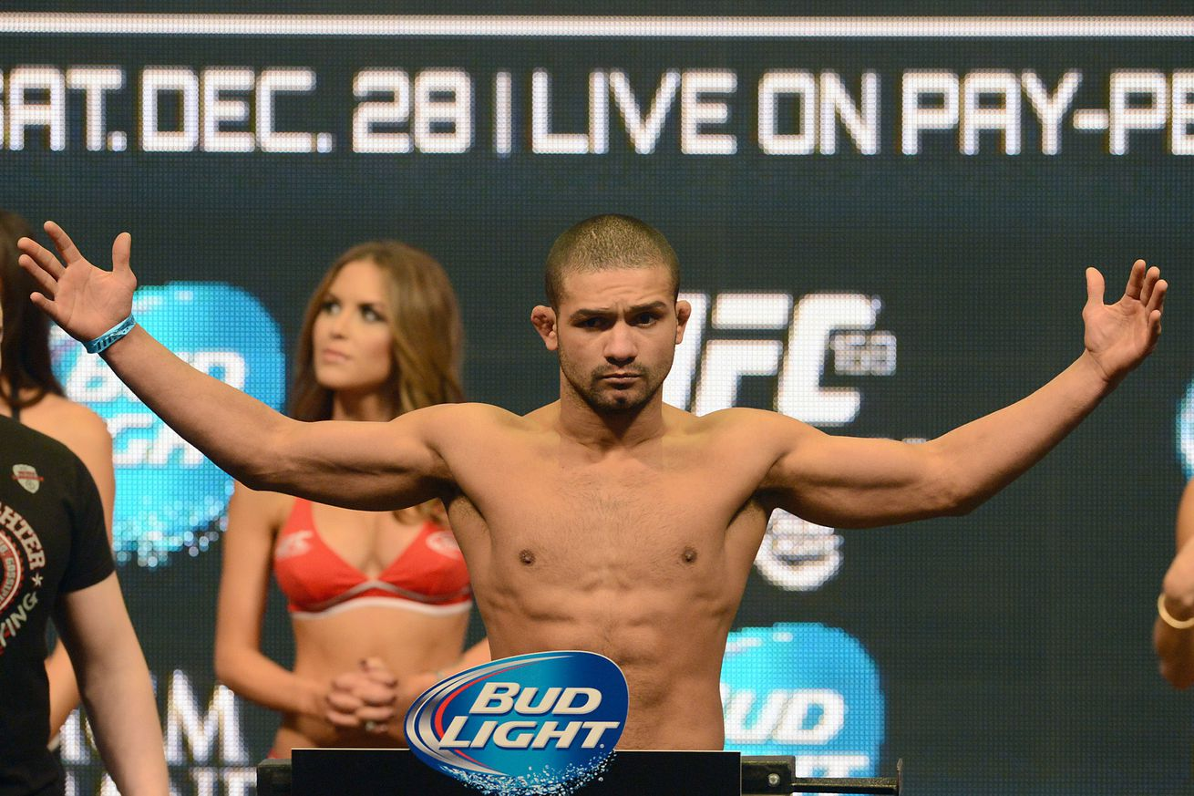 PDF: Police report for Diego Brandao reveals new details in UFC fighters recent arrest
