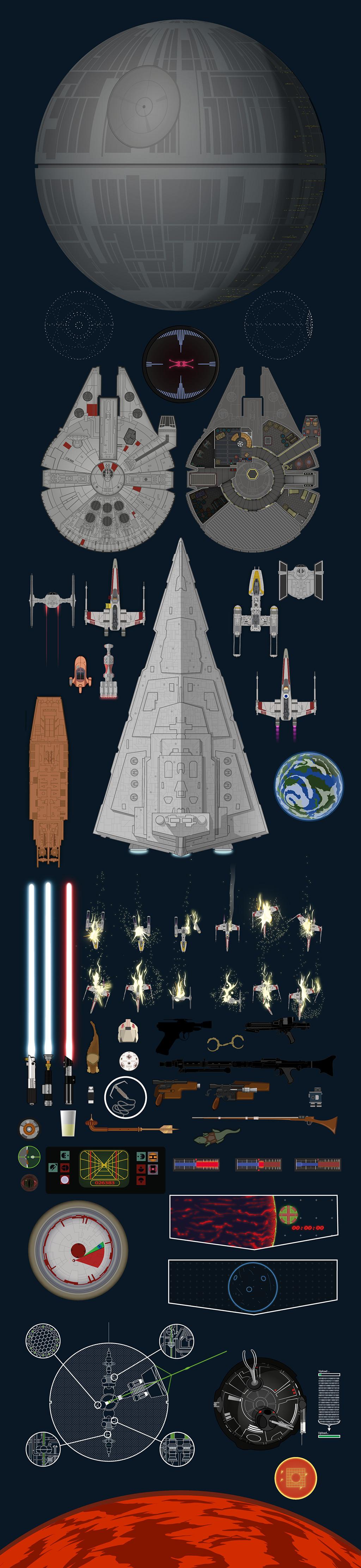 Star Wars Scroll