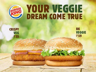 Burger King India might take its Vegetarian menu Worldwide