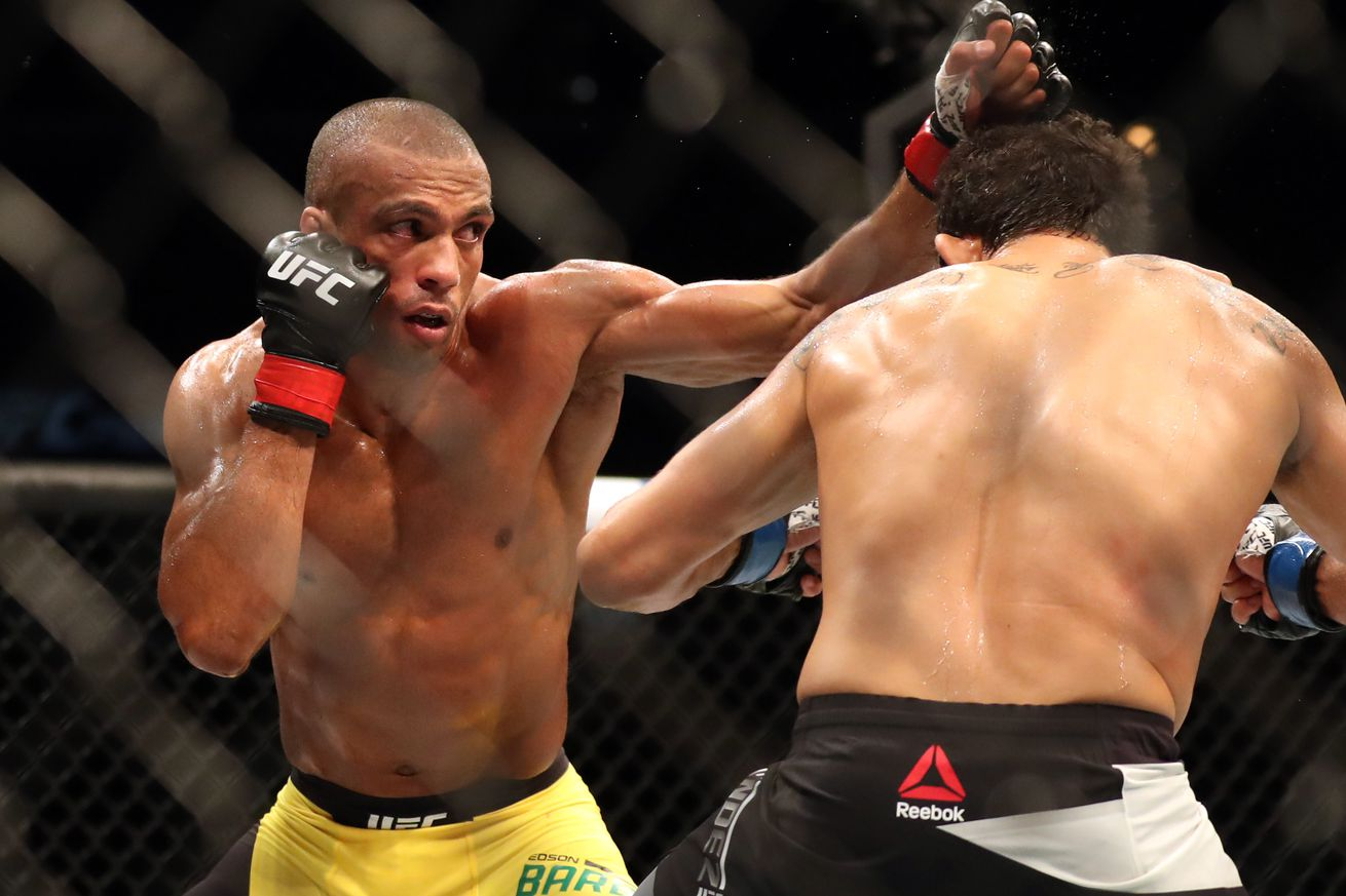 UFC on FOX 20 results: Edson Barboza batters leg of Gilbert Melendez en route to unanimous decision victory