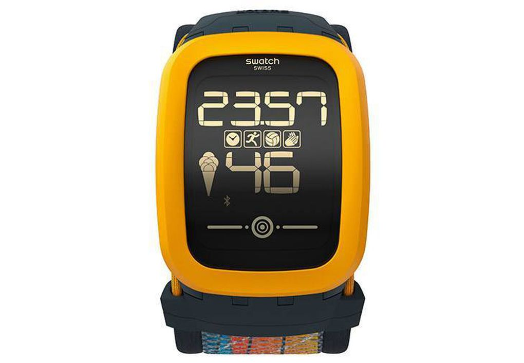 swatch announces new touchscreen watch with fitness features the verge. Black Bedroom Furniture Sets. Home Design Ideas