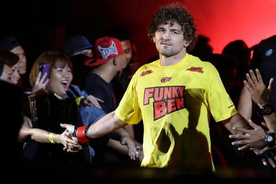 One FC welterweight champ Ben Askren doesnt need the big UFC salary to be happy