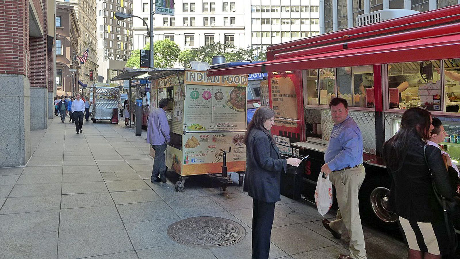 Best Food Carts Fidi