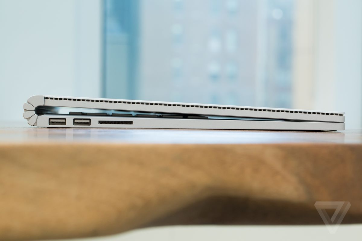 Surface Book hinge