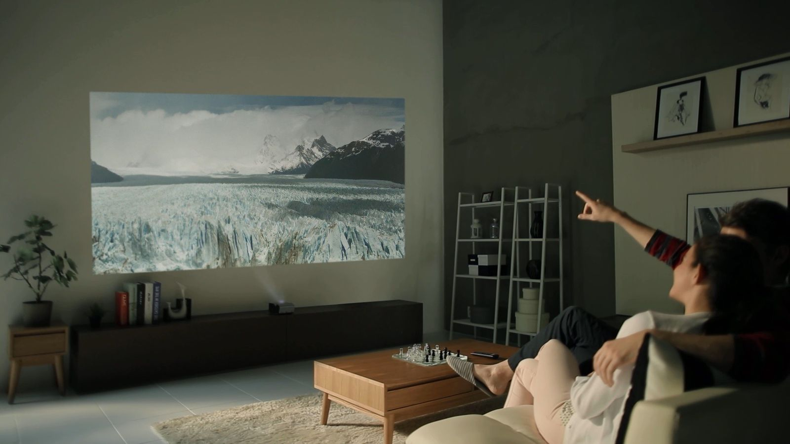 LG's new battery-powered projector can produce an 80-inch image from almost anywhere   The Verge
