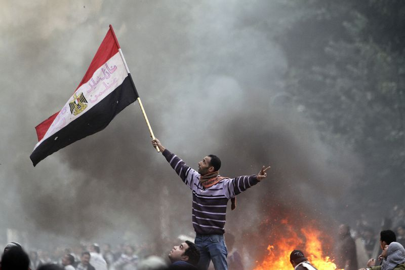 December 2011 Tahrir protest