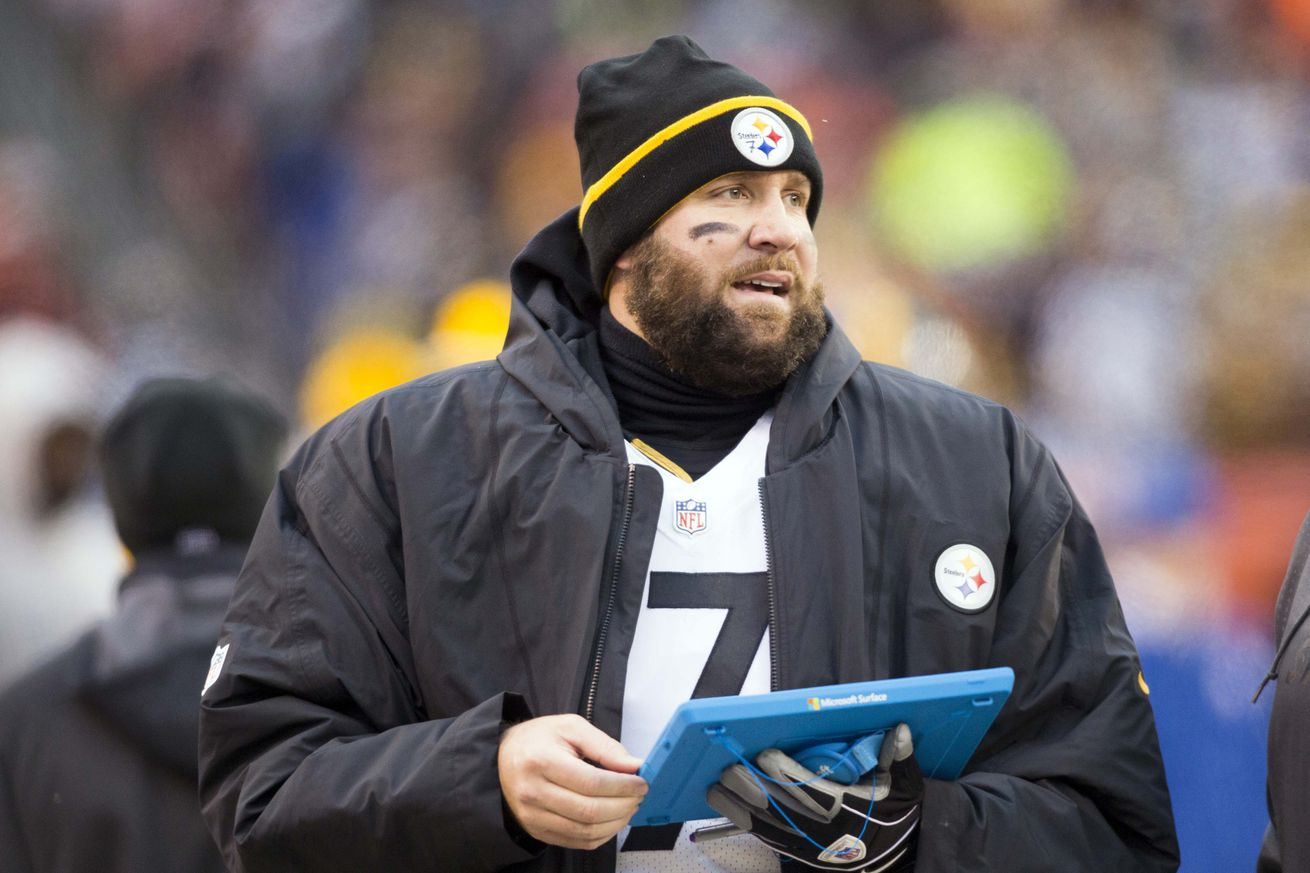 Steelers Qb Ben Roethlisberger S Reaction To Fans Cheering