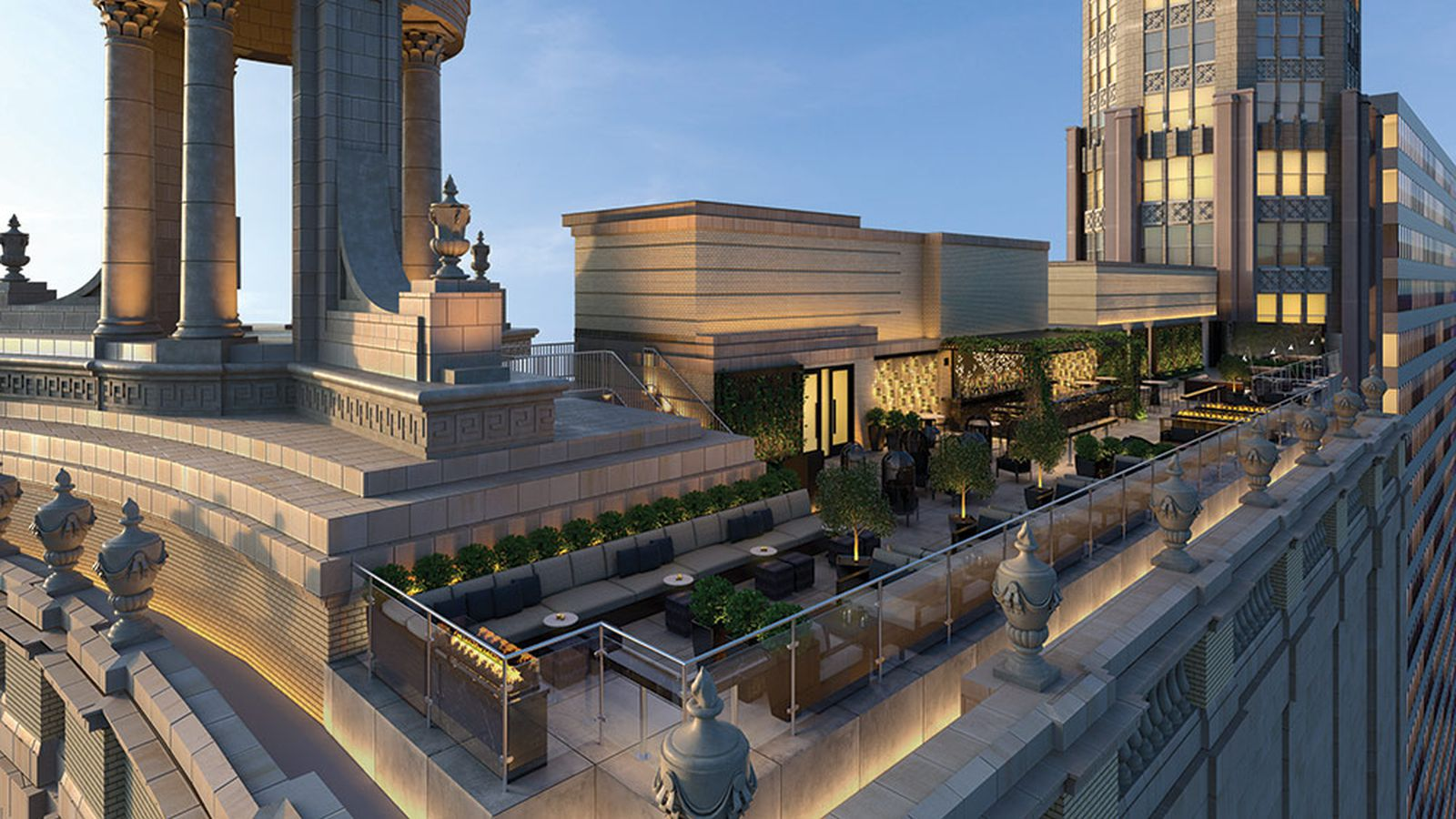 39 chicago 39 s first tri level rooftop 39 lounge heading to loop. Black Bedroom Furniture Sets. Home Design Ideas