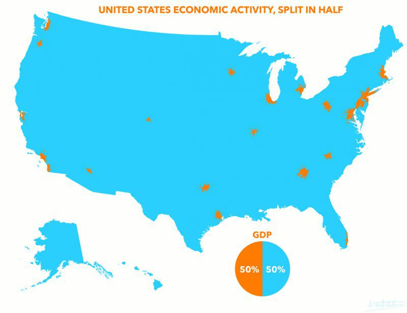 13 maps about America worth bringing up at dinner parties and/or first dates