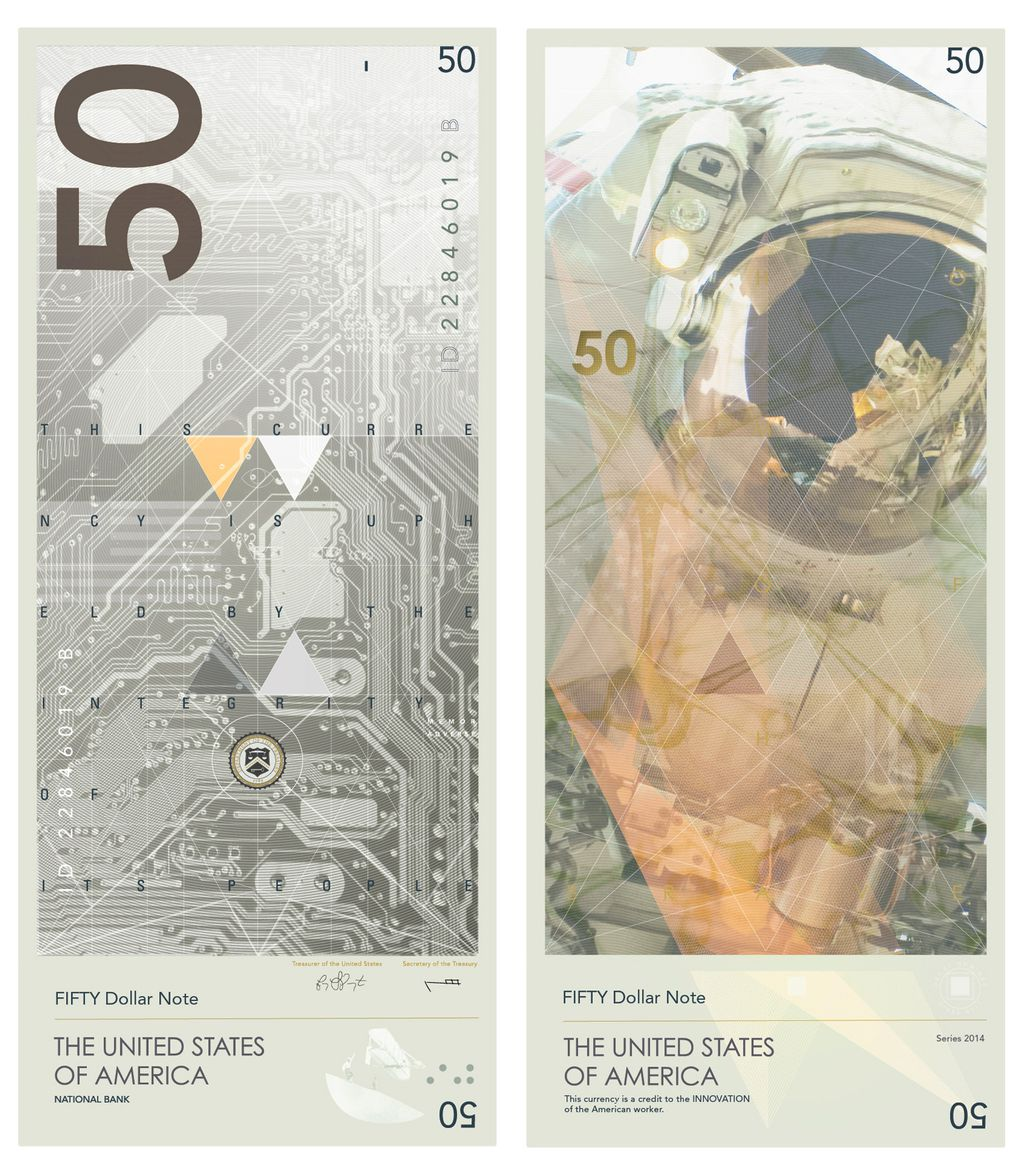 US currency reimagined to celebrate ideas  not the deadCurrency Redesign