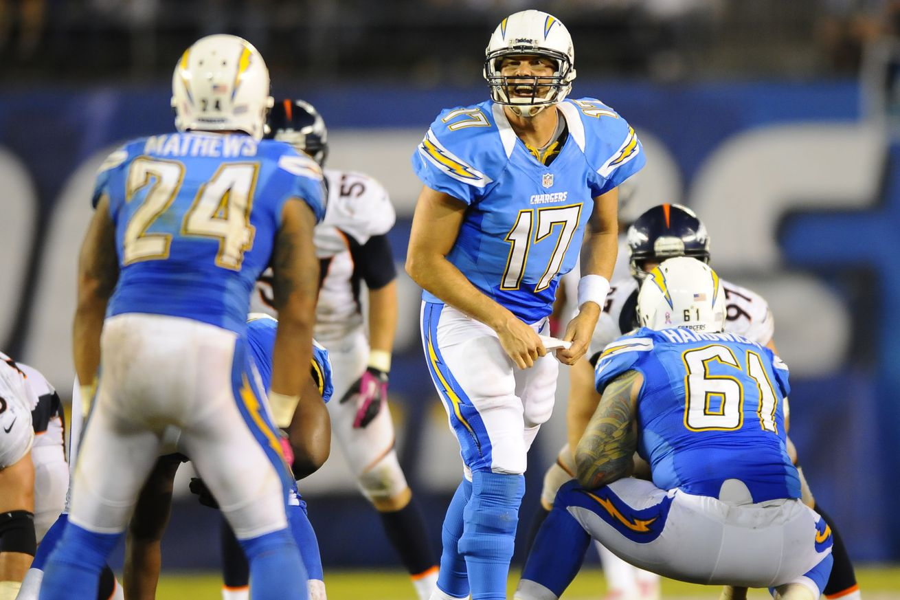 San Diego Chargers To Wear Powder Blue Uniforms On Monday