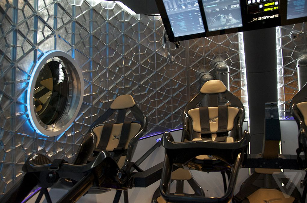 dragon 2 spacecraft interior - photo #12