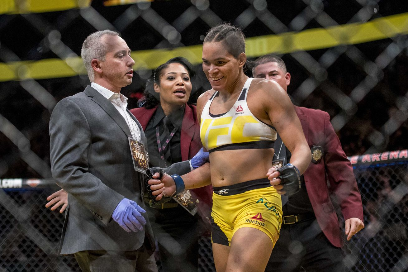 Amanda Nunes prefers to fight Ronda Rousey, would gladly whoop Julianna Pena in her place