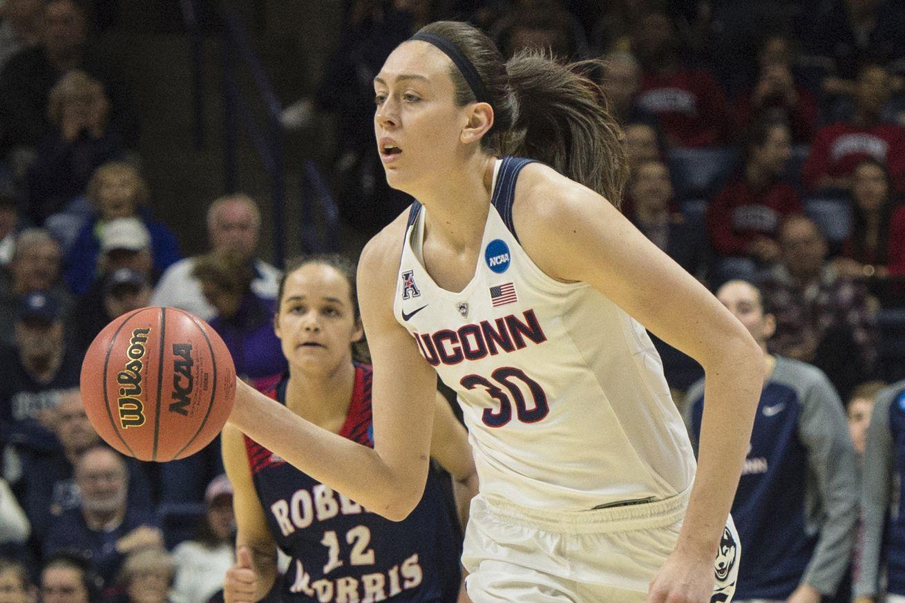Robert Morris Colonials vs UConn Women's Basketball