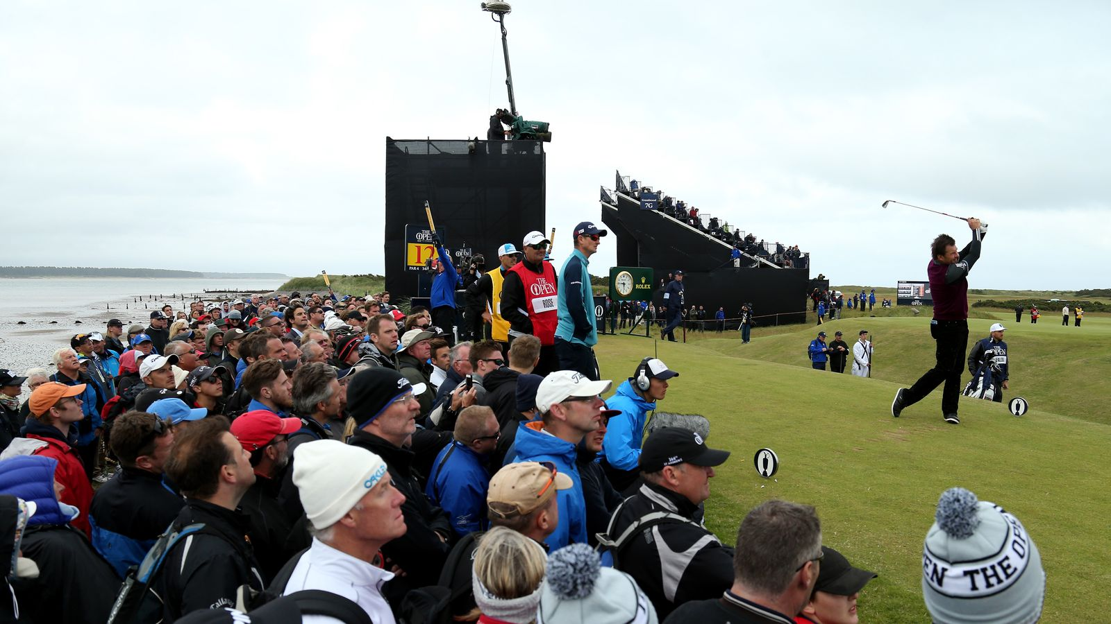 2015 british open tv coverage  start time  schedule for