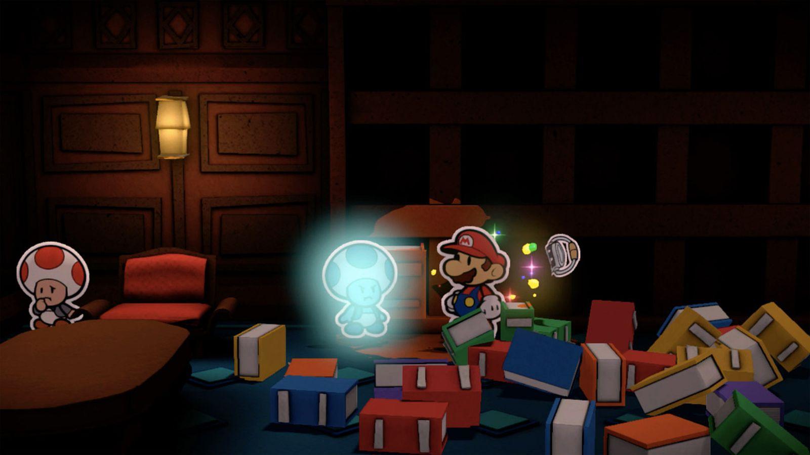 impresiones Paper Mario: Color Splash