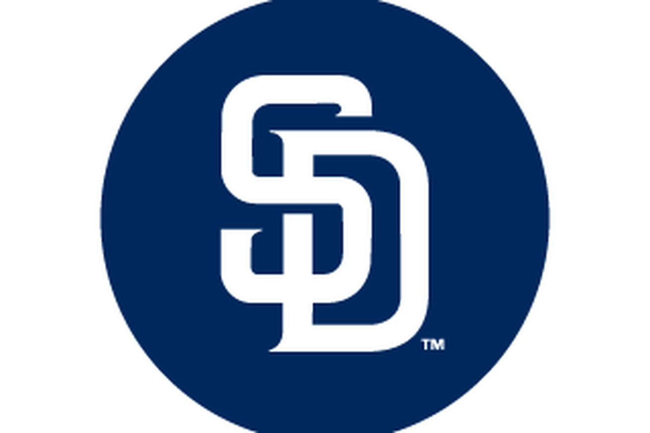 new padres quotsdquot logo being emphasized gaslamp ball