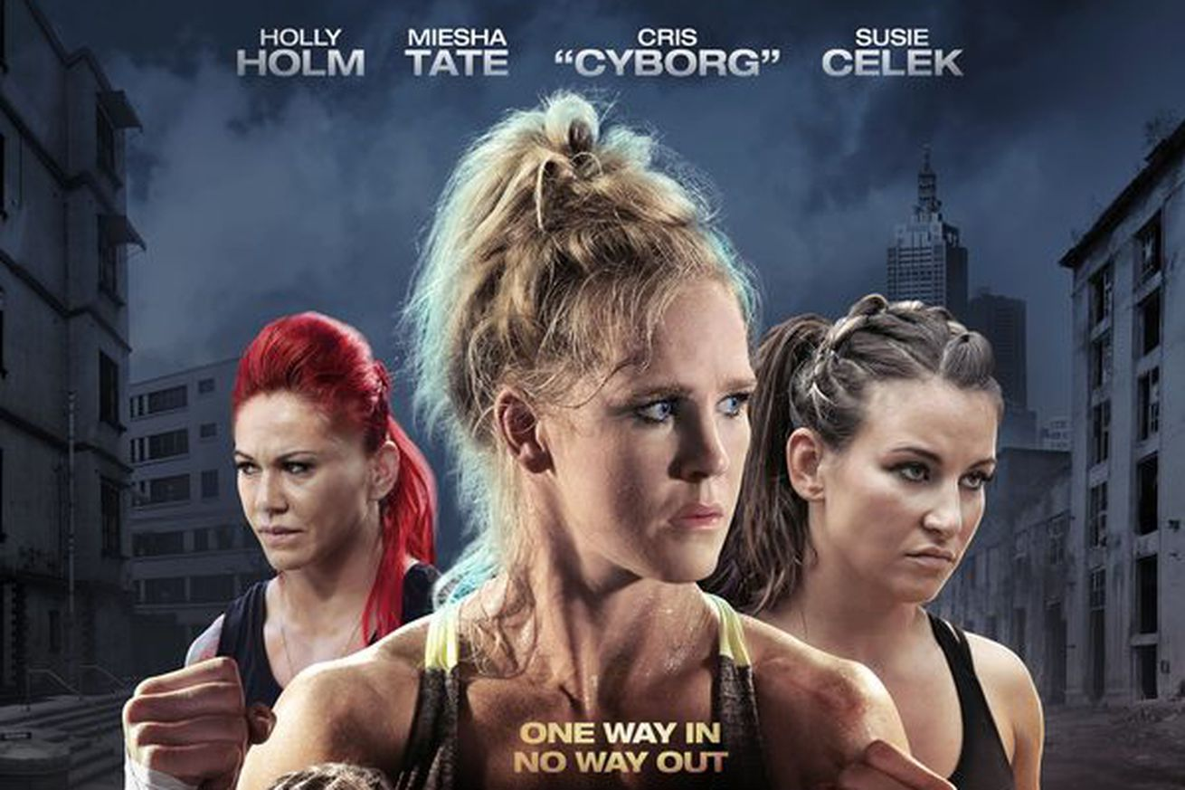 community news, Pic: Fight Valley movie poster starring Holly Holm, Miesha Tate, and Cris Cyborg