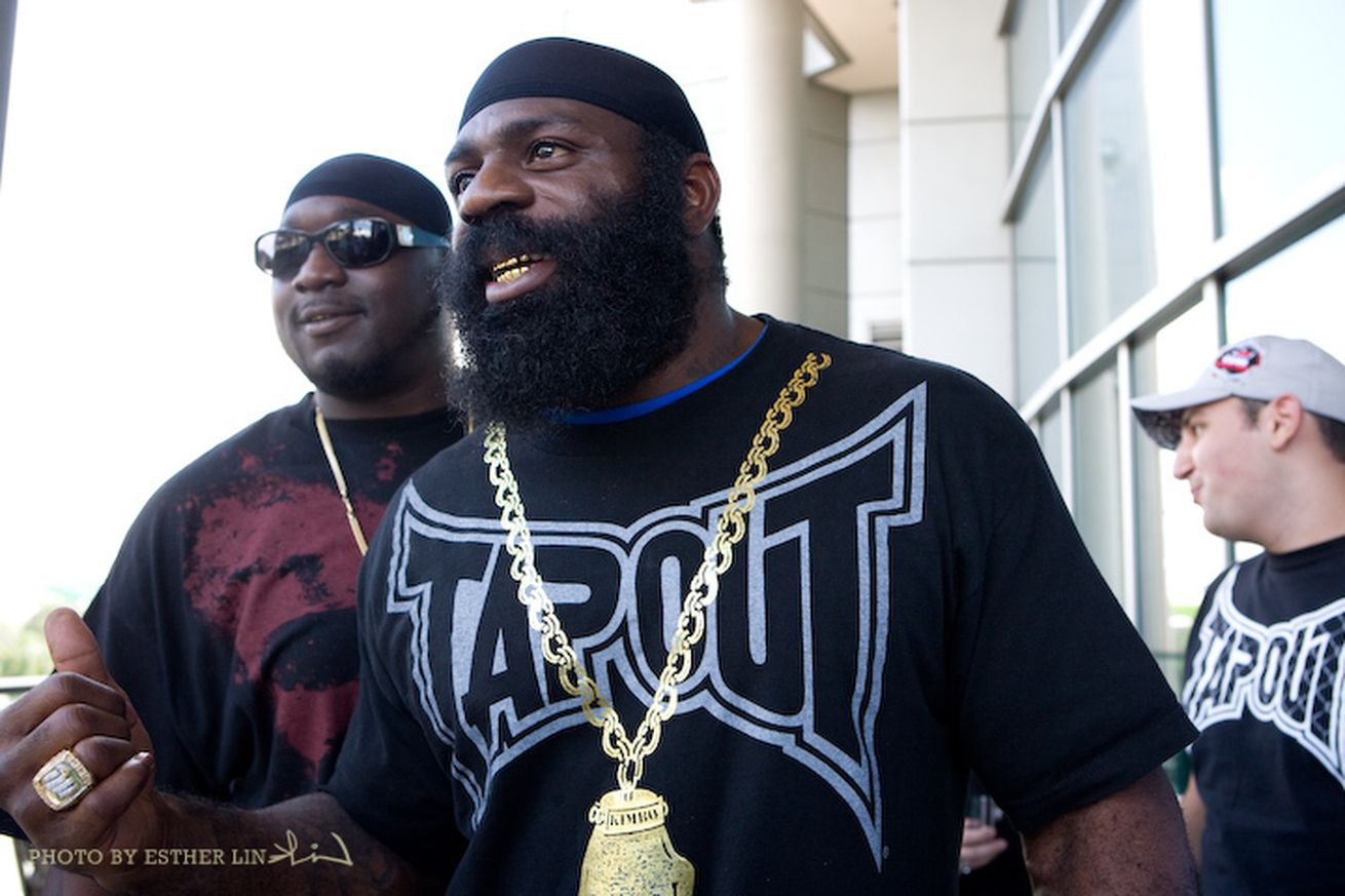 Morning Report: Kimbo Slice to Wanderlei Silva: I dont mind knocking your ass out!
