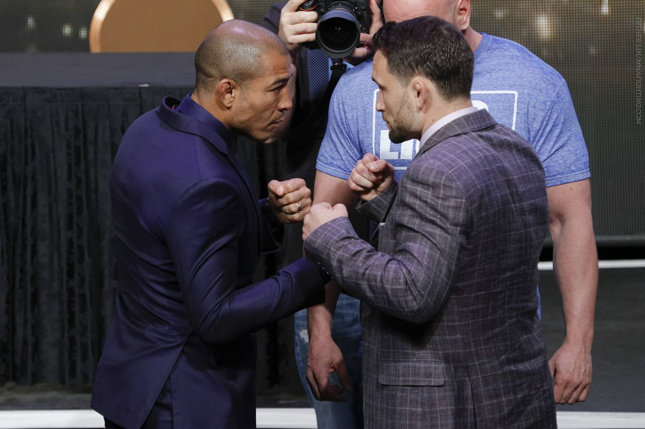 Frankie Edgar: With Conor McGregor out, Jose Aldo fight at UFC 200 'should be for the vacant title