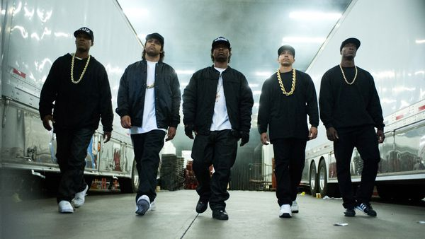 N.W.A., as portrayed in Straight Outta Compton