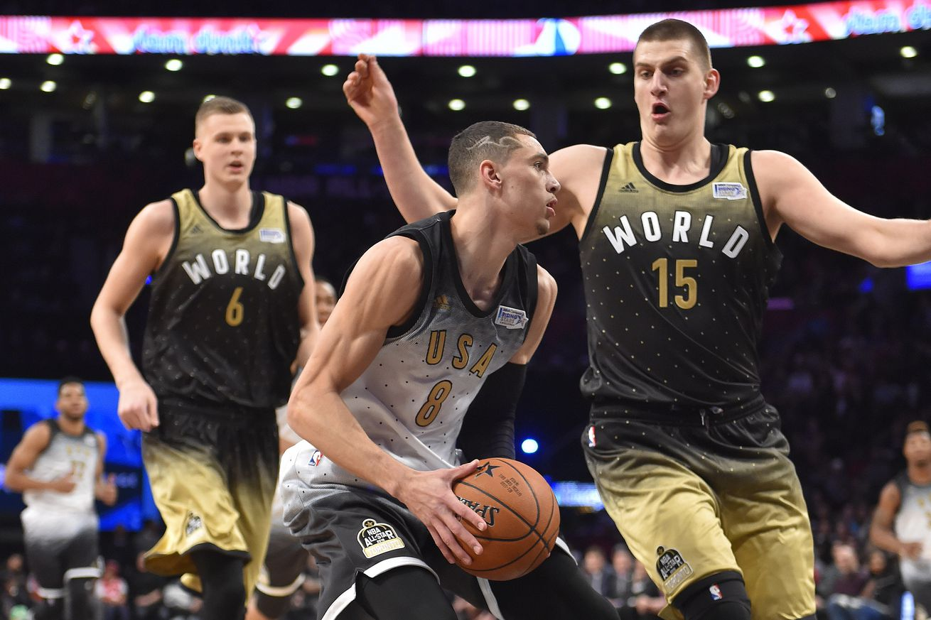 Usa Conquers The World In Nba Rising Stars Challenge