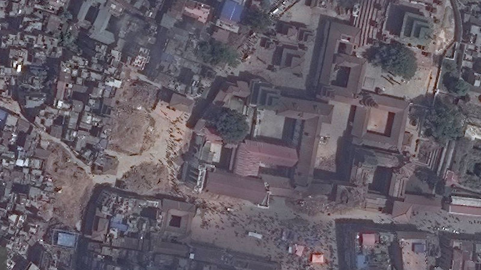 New Satellite Images Of Nepal Show Earthquake S