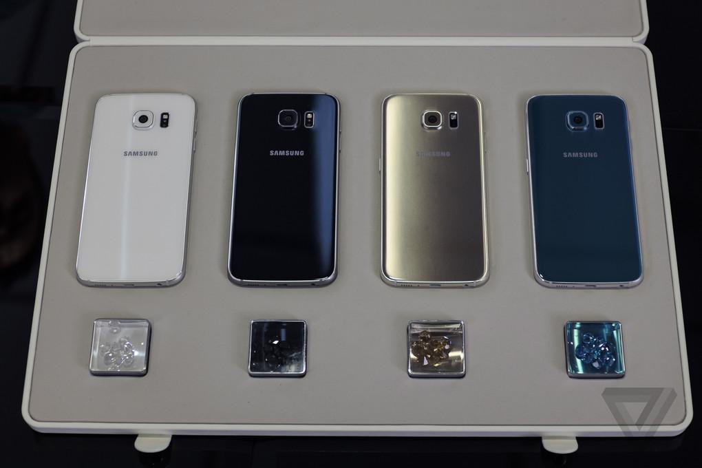 [MWC 2015] Ngắm nhìn từng góc cạnh Samsung Galaxy S6, S6 Edge: kính, kim loại, bóng bẩy - 64215