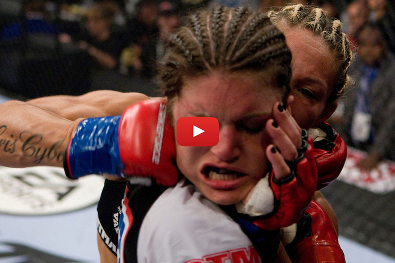 community news, UFC 198 free fight video: Watch Cris Cyborg destroy Gina Carano in Strikeforce