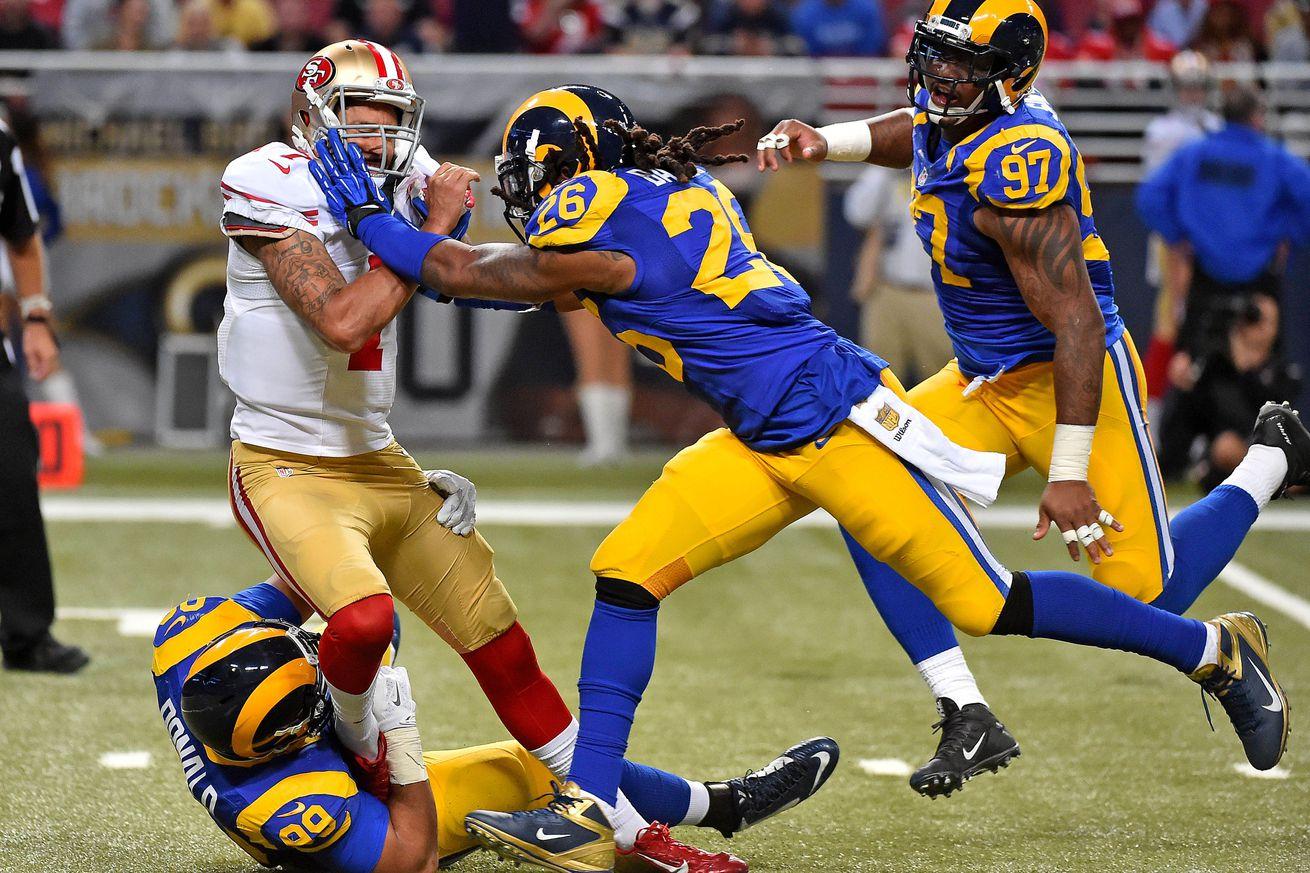 Los Angeles Rams Isiah Ferguson GAME Jerseys