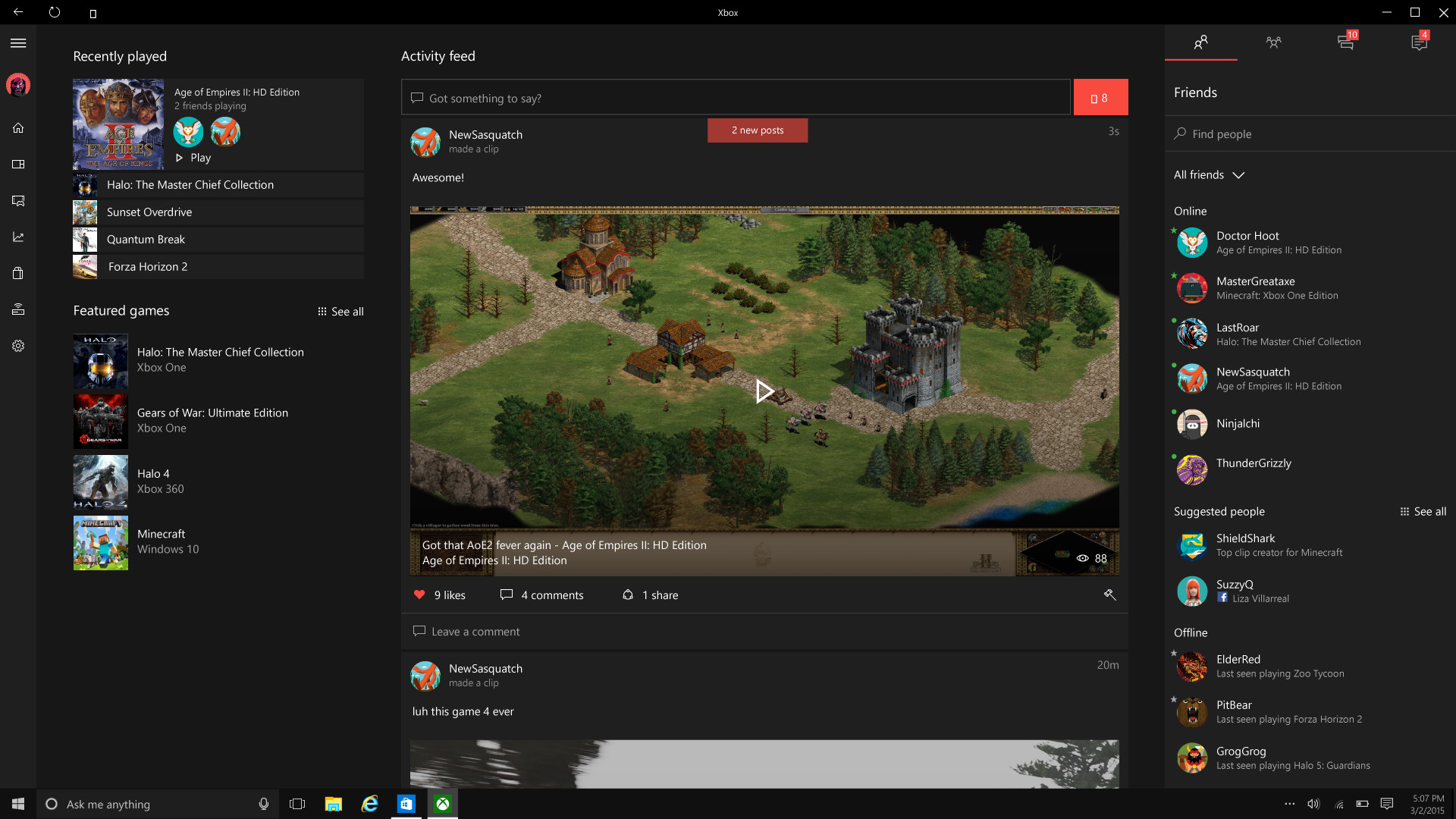 how to run xbox apps on pc