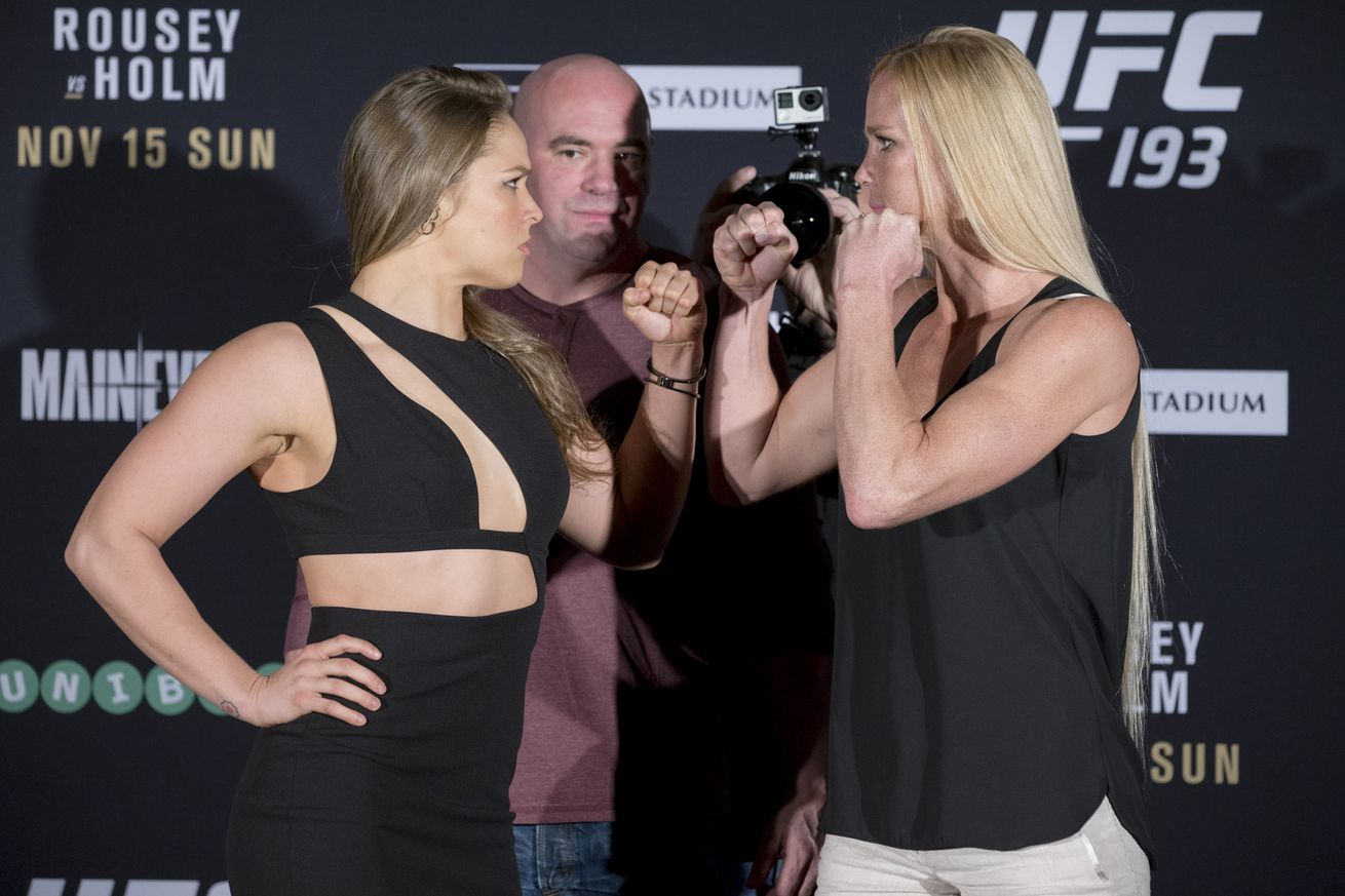Holly Holm: Its very possible the UFC is waiting to book me for Ronda Rousey rematch