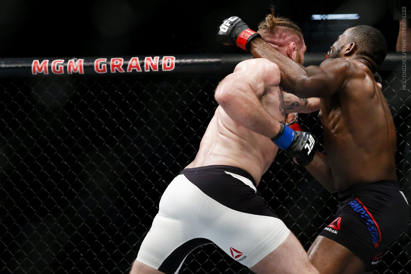 community news, UFC 196 results: Corey Anderson takes decision over Tom Lawlor