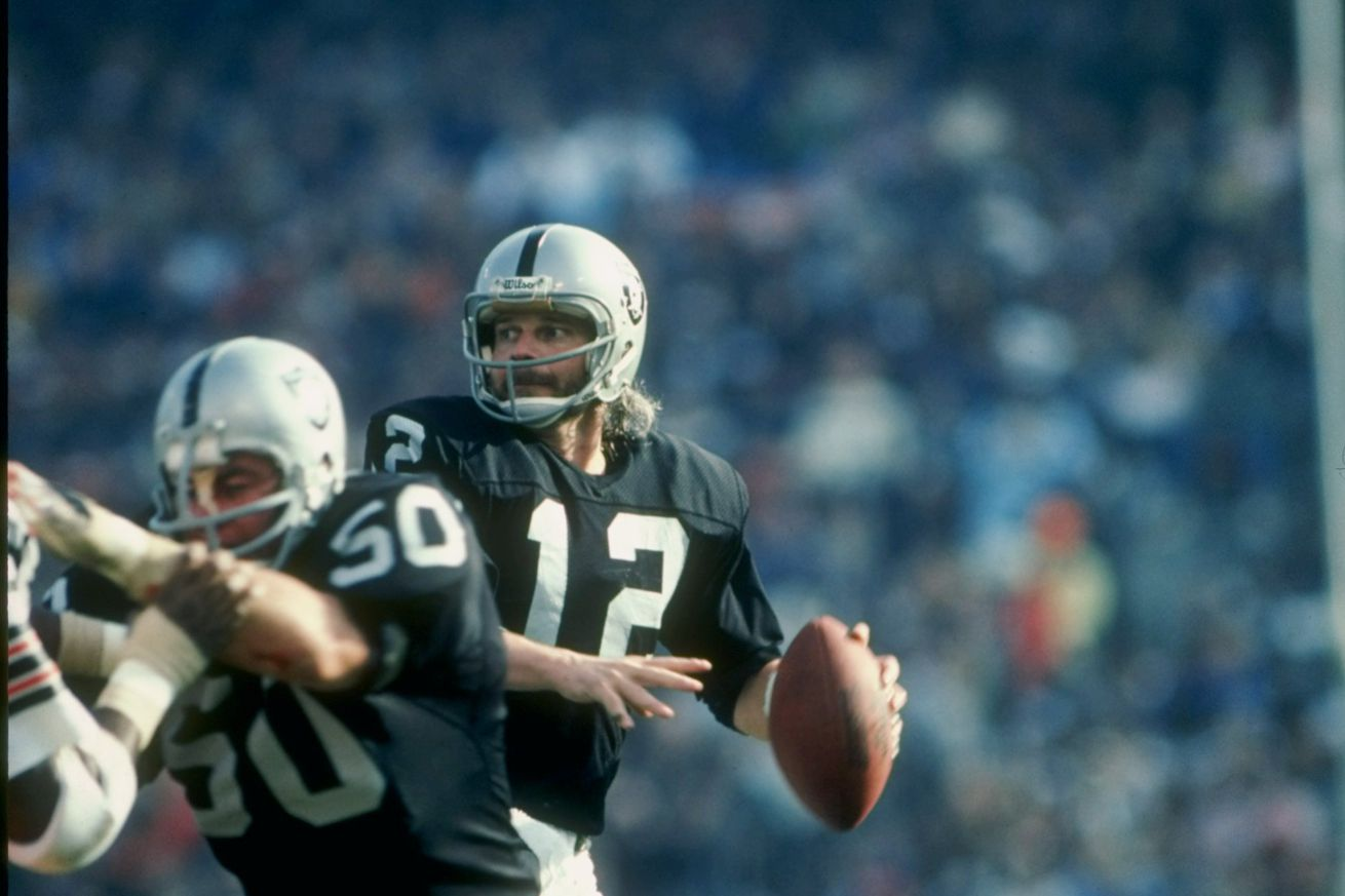 Pro Football Inducts Late Raiders Quarterback to Hall of Fame