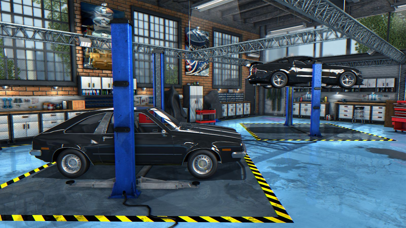Realistic Car Repair Games