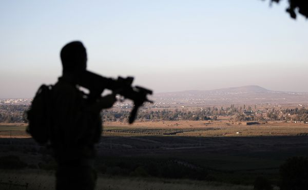 The rocket attack targeted the Israeli-occupied Golan Heights.