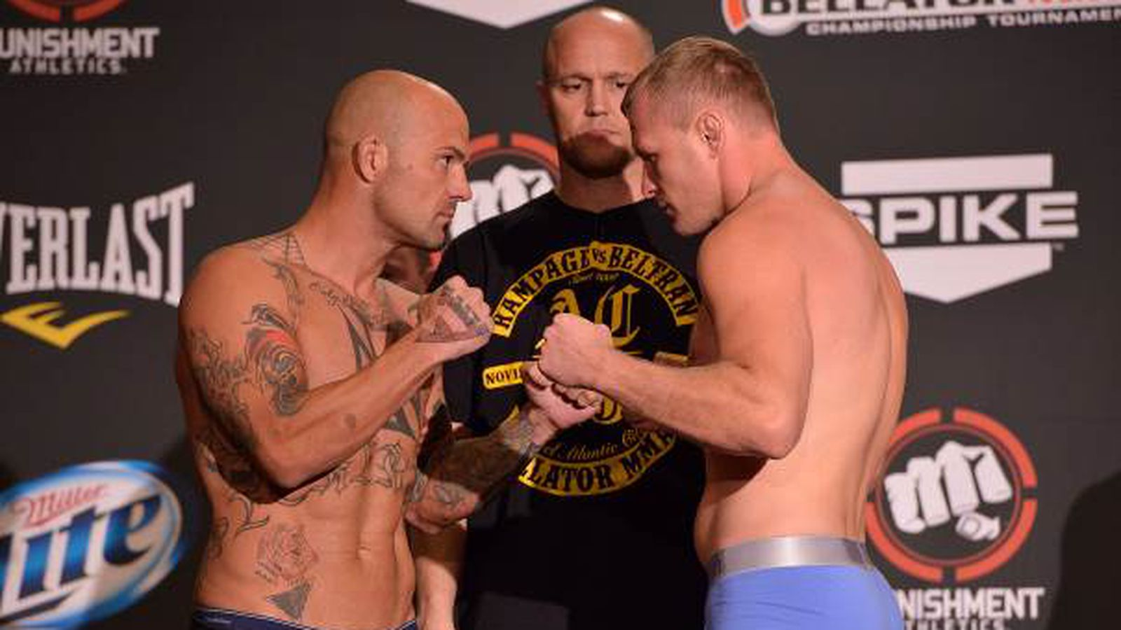 Bellator 109 weigh-in results for 'Shlemenko vs Marshall ...