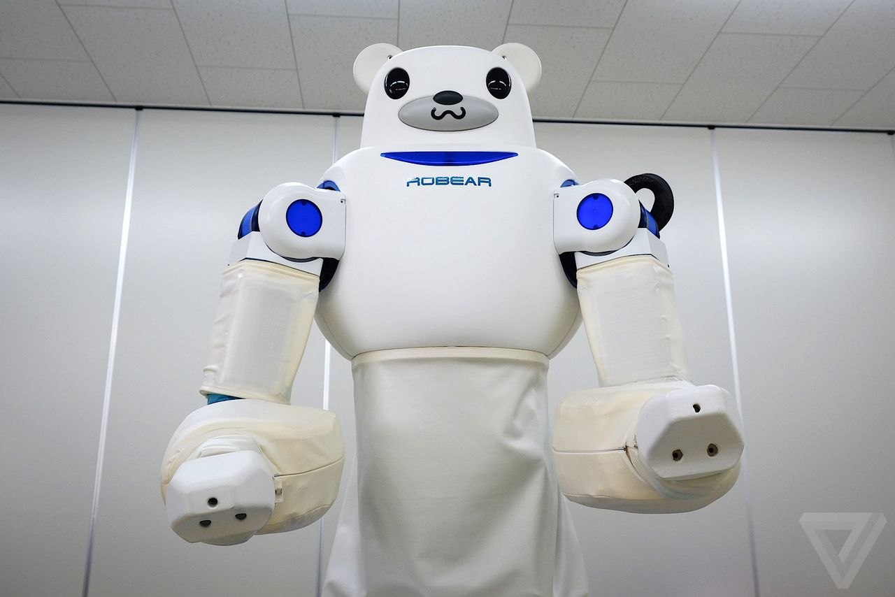 This Cuddly Japanese Robot Bear Could Be The Future Of