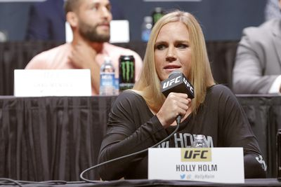 Holly Holm says Jon Jones has been instrumental in helping her prepare for Ronda Rousey