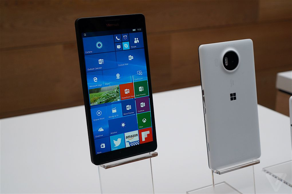 Lumia 950 and 950 XL hands-on: Windows Phone is back : The Verge