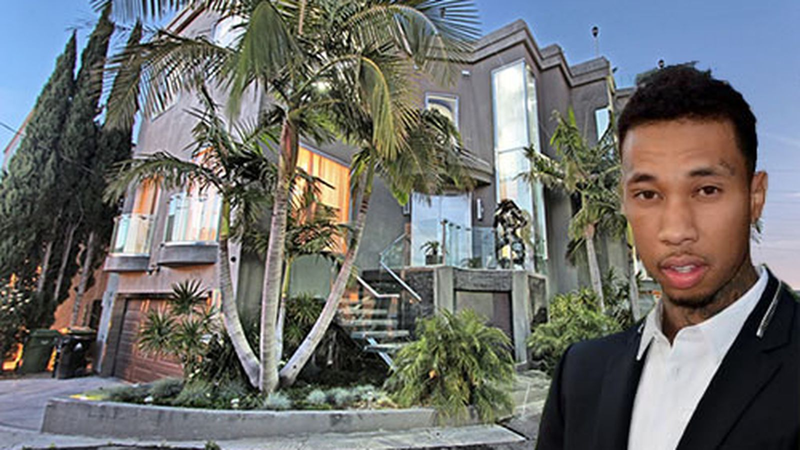 Tyga 39 s new pad above the sunset strip is pretty bananas for Www house com