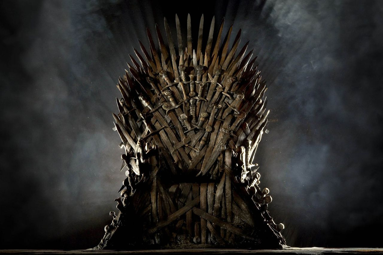 The Iron Throne - All About The Game of Thrones - cover