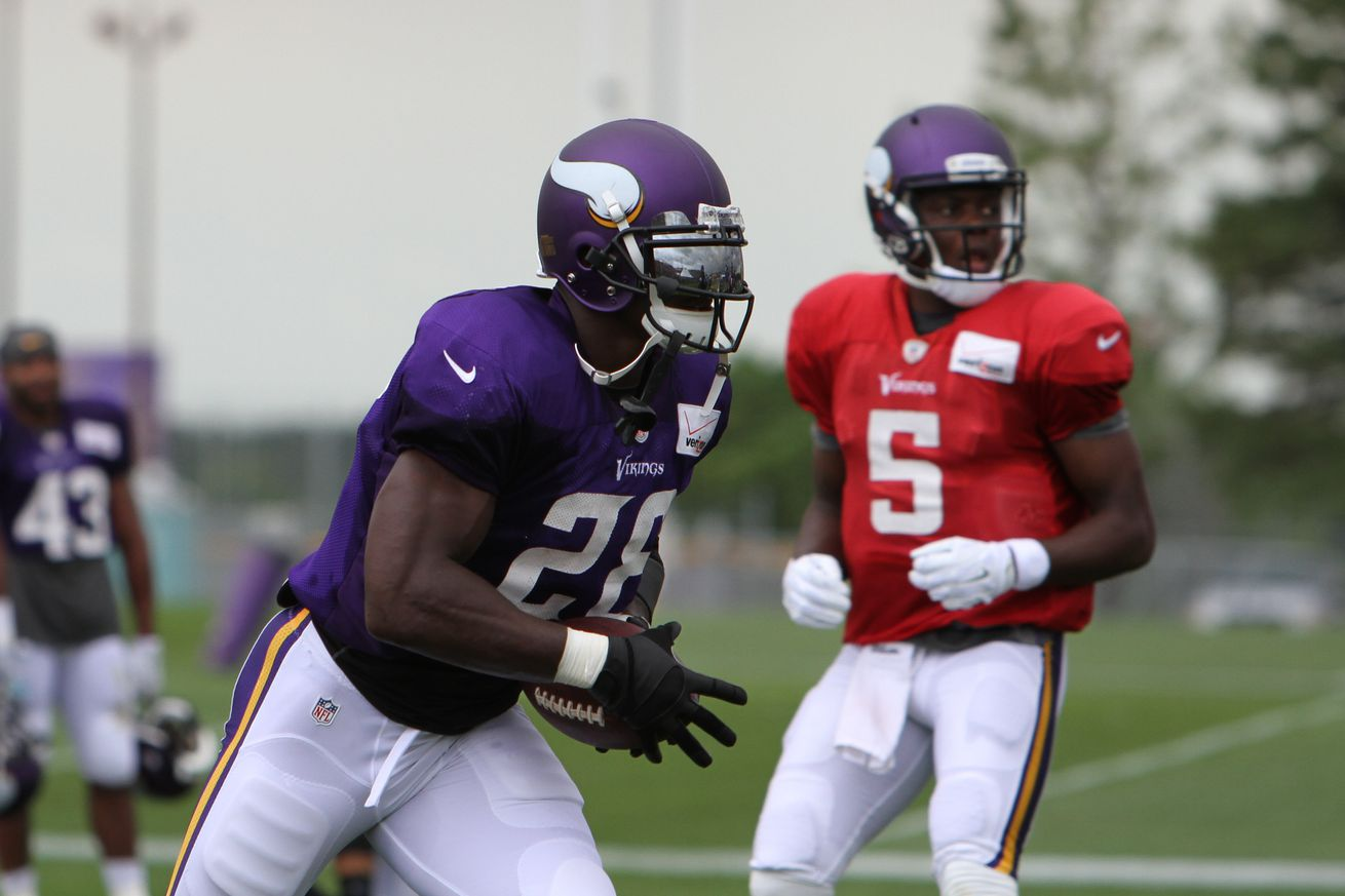Jerseys NFL Online - Minnesota Vikings Training Camp: Photo Gallery, Offensive Recap ...